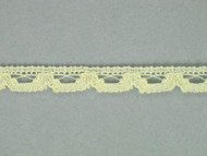 "Cream Edge Lace Trim - 0.375"" (280 yards) (CR0038E01W)"