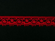 "Red Edge Lace Trim - 0.5"" (856 yards) (RD0012E02W)"
