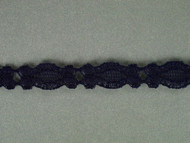"Dk Blue Galloon Lace Trim - 0.375"" (333 yards) (DB0038G02W)"