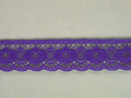 "Purple Edge Lace Trim - 0.75"" (286 yards) (PR0034E02W)"