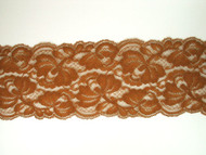 "Brown Galloon Lace Trim - 3.5"" (124 yards) (BN0312G01W)"