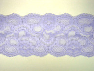 "Sky Blue Galloon Lace Trim - 4"" (360 yards) (SK0400G01W)"