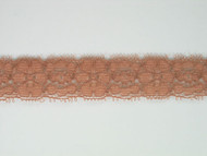 "Cinnamon Edge Lace Trim - 0.875"" (276 yards) (CM0078E01W)"