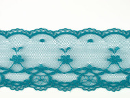"Teal Edge Lace Trim - 2.375"" (210 yards) (TL0238E01W)"
