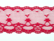 "Wine Red Edge Lace Trim - 2.25"" (200 yards) (WR0214E01W)"