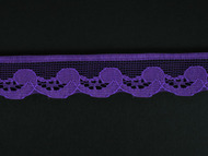 "Violet Edge Lace Trim - 0.75"" (294 yards) (VT0034E02W)"