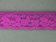 "Grape Edge Lace Trim - 1.125"" (238 yards) (GR0118E01W)"