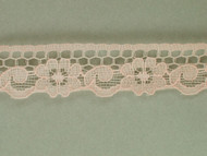 "Lt Peach Edge Lace Trim - 0.75"" (328 yards) (PE0034E01W)"