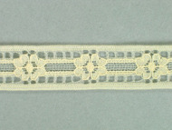 "Ivory Insertion Lace Trim - 0.625"" (332 yards) (IV0058E03W)"