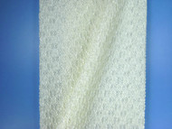 "Ivory Bubble Lace Fabric - 54"" (IVAL04)"