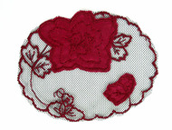 "Red Rose Applique - 4.25"" x 3.375"" (APM001)"