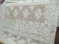 "Beige Quaker Lace - 60/62"" Wide (QL14)"