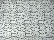 "White Allover Stretch Lace - 48/50"" (WTAL02)"