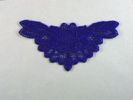 "Blue Venise Applique - 4.75"" wide (APM083)"