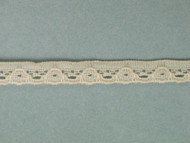 "Lt Peach Edge Lace Trim - 0.25"" (PE0014E01)"