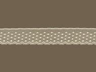 "Ivory Edge Lace Trim - 1"" (IV0100E02)"