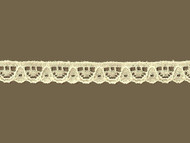 "Ivory Edge Lace Trim - .375"" (IV0038E05)"