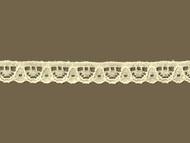 "Ivory Edge Lace Trim - .375"" (IV0038E05)"