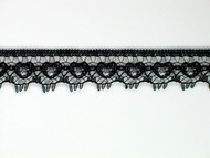 "Black Edge Lace Trim - 0.5"" (BK0012E01)"