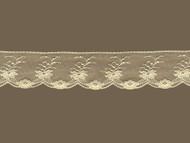 "Ivory Edge Lace Trim w/ Fine Netting - 2"" (IV0200E05)"