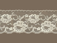 "Ivory Edge Lace Trim w/ Sheen - 4"" (IV0400E01)"