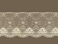 "Ivory Edge Lace Trim - Stiff - 4.25"" (IV0414E01)"