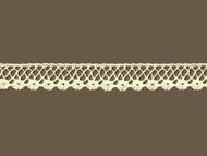 "Ivory Edge Lace Trim - Cotton - .625"" (IV0058E08)"