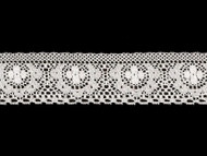 "White Edge Lace Trim - 1.5"" (WT0112E04)"