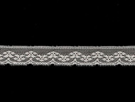 "White Edge Lace Trim - .75"" (WT0034E13)"