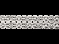 "White Galloon Stretch Lace Trim - 1.5"" (WT0112G02)"
