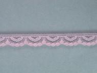 "Lt Pink Edge Lace Trim - 0.375"" (PK0038E01)"