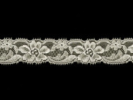 "Off White Edge Lace Trim - 1.25"" (WT0114E07)"