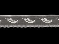"White Edge Lace Trim - 1.875"" (WT0178E01)"