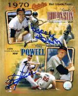 Brooks Robinson & Boog Powell Autographed Exclusive 8x10 Photo