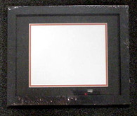 Double-Matted Black Wood 8x10 Frame