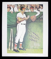 """Norman Rockwell's """"Gee Thanks, Brooks"""" framed"""