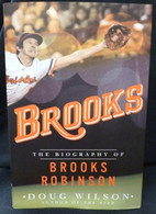 """""""Brooks"""" Autographed Biography Book"""