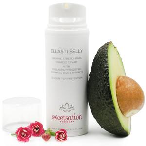 Ellasti Belly Organic Stretch Mark Miracle Caviar, 3.3oz