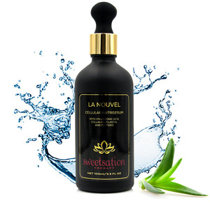 La Nouvel Cellular Nutri Serum with Collagen / Elastin, Resveratrol, Peptides, Dragon's Blood & Vitamin C, 3.3oz