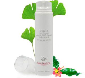 NuElle Triple Action Anti Cellulite Concentrate, with Caffeine, L'Carnitine, CoQ10, Algae+; 25 Best Cellulite Fighting ingredients, 5oz