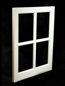22 x 29 White PVC Barn Sash Window (BS2229W)