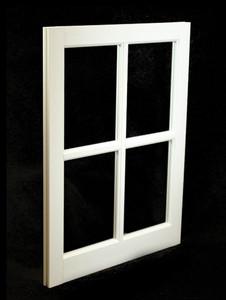 22 x 29 White PVC Barn Sash Window (BS2229W)