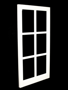 22 x 41-5/16 White PVC Barn Sash Window (BS2241W)