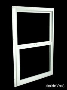 29-1/2 x 41-1/2 White PVC Insulated Single Hung Windows (NVSH3042WI)