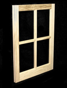 20 x 25 Natural Pine Barn Sash Window (BSW2025)