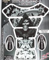 Grim Reaper Fire silver metallic