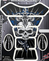 Skull Sun Blue