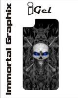 Igel Black Fire Skull Blue