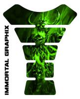 Pissed Devil Green Tank Pad