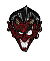 Devil Black Red